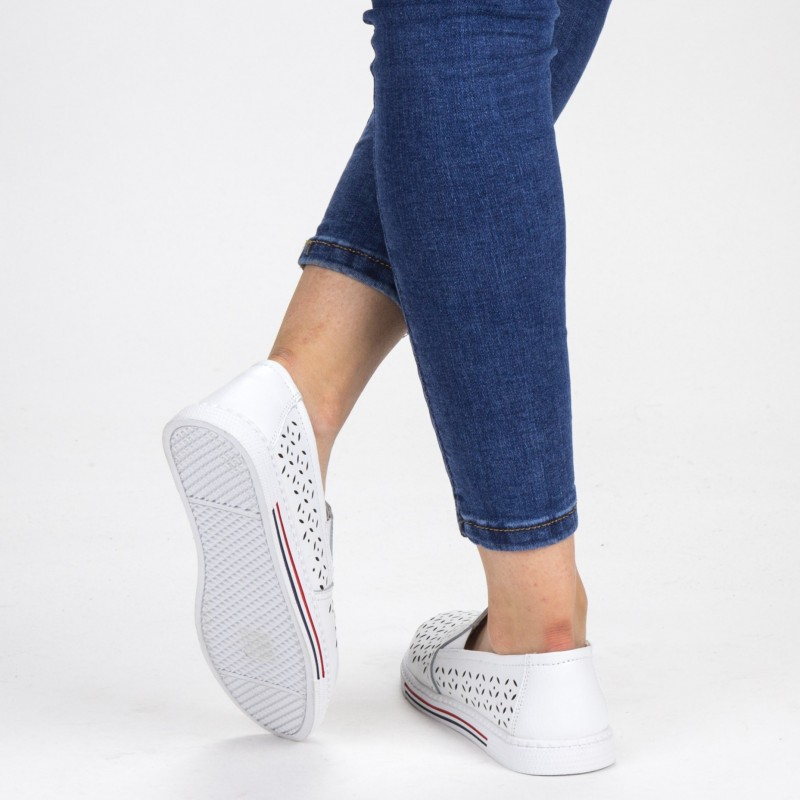 Pantofi Casual Dama WKH4101 White X-Mmm
