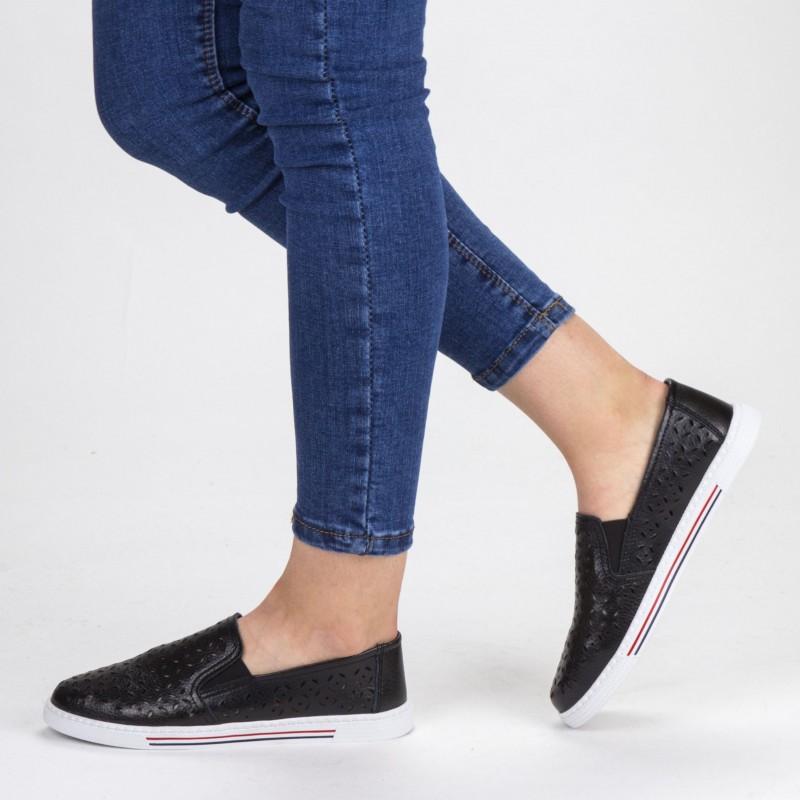 Pantofi Casual Dama WKH4101 Black X-Mmm
