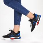 Pantofi Sport Dama cu Platforma SZ199 Black Mei