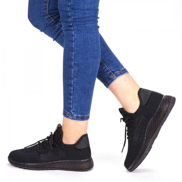 Pantofi Sport Dama YKQ63 Black Mei