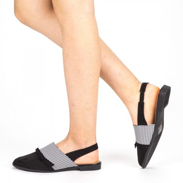 Sandale Dama cu Toc WH23 Black Mei