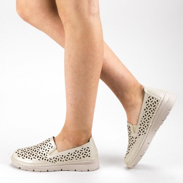 Pantofi Casual Dama S126 Gold Ggm
