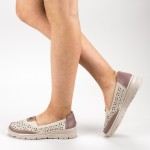 Pantofi Casual Dama S122 Beige Ggm