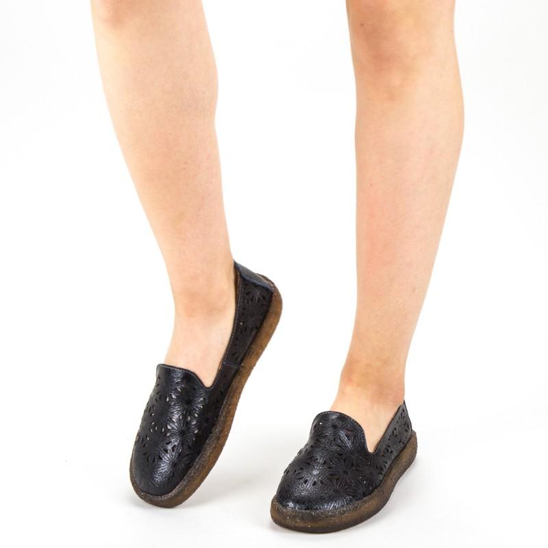 Pantofi Casual Dama Y1905 Black Formazione
