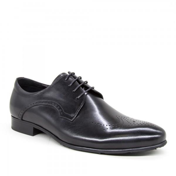 Pantofi Barbati 572-812 Black Eldemas
