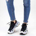 Pantofi Sport Dama cu Platforma CJL13 Black Mei