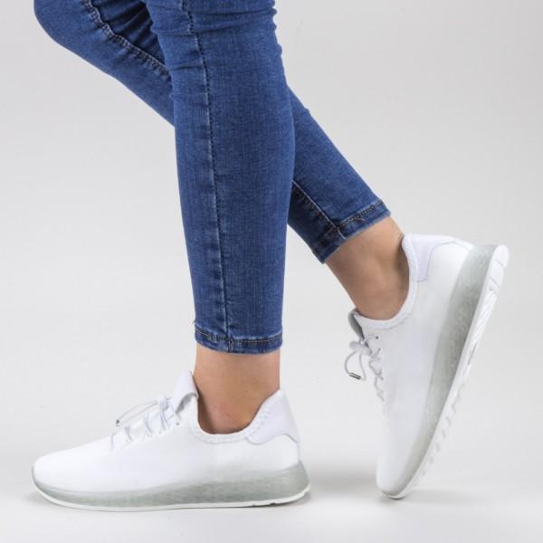 Pantofi Sport Dama GB66 White Mei