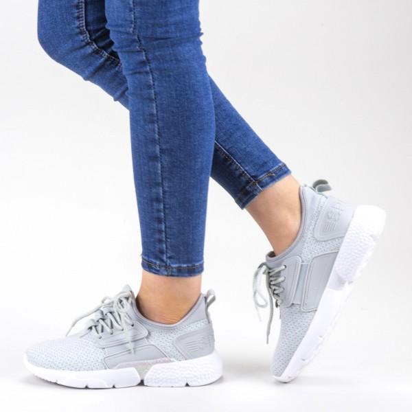 Pantofi Sport Dama 20-690 Grey Wonex