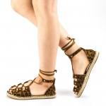Sandale Dama WH20 Leopard Mei