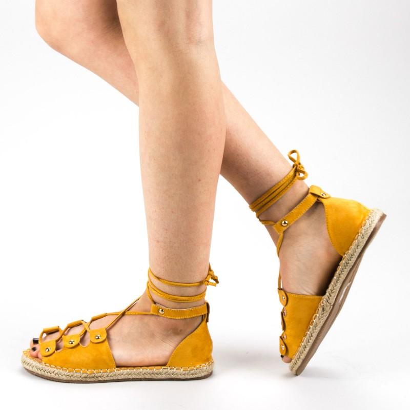 Sandale Dama WH20 Yellow Mei
