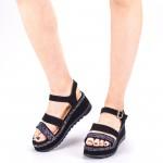 Sandale Dama cu Toc si Platforma LM256 Purple Mei