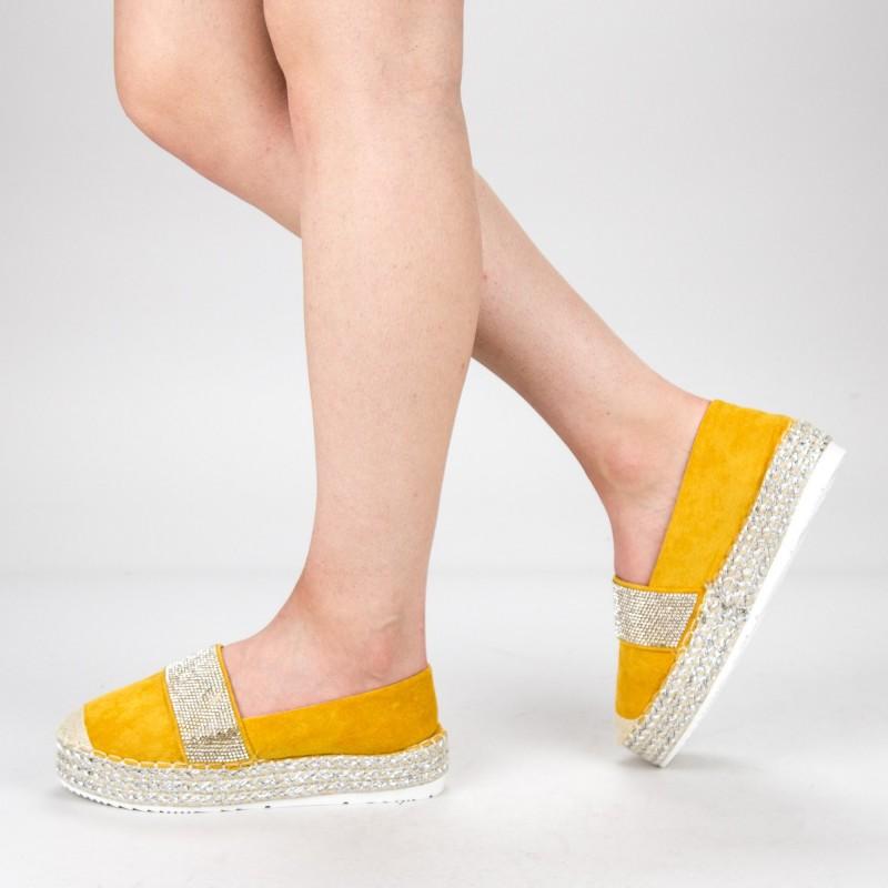 Pantofi Casual Dama VB9209 Yellow Vera Blum