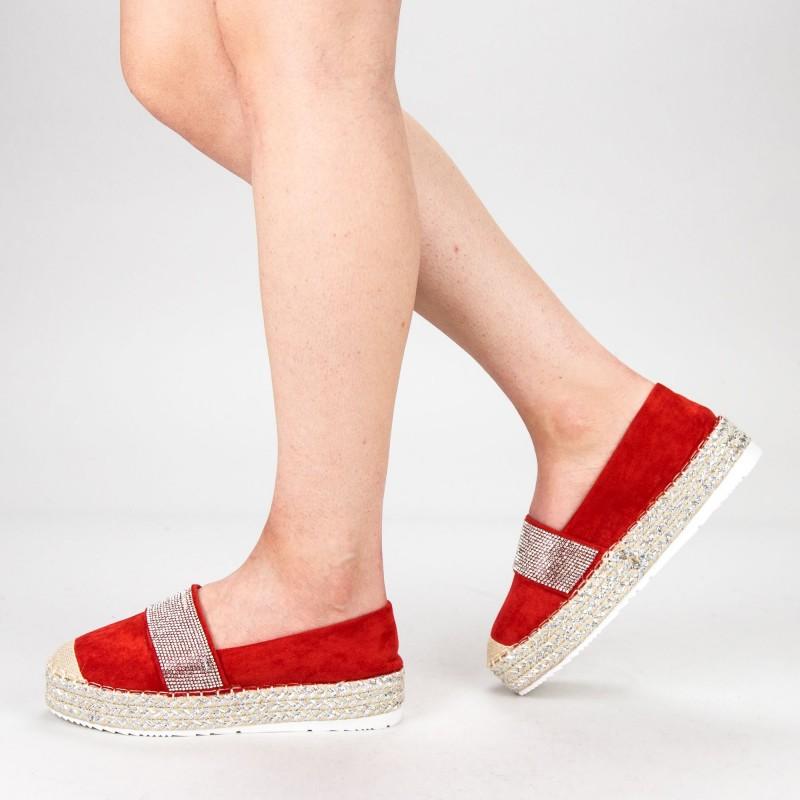 Pantofi Casual Dama VB9209 Red Vera Blum
