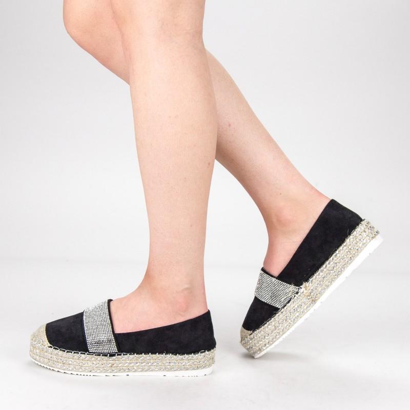 Pantofi Casual Dama VB9209 Black Vera Blum