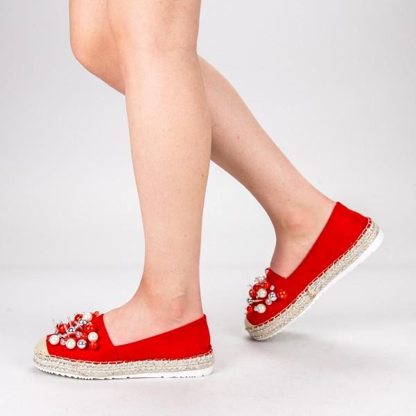 Pantofi Casual Dama L626 Red Sweet Shoes