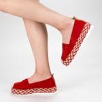 Pantofi Casual Dama cu Platforma BL00029 Red Botinelli