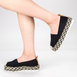 Pantofi Casual Dama cu Platforma BL00029 Black Botinelli