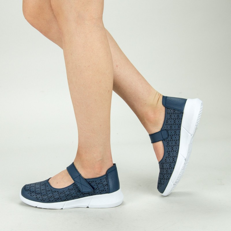 Pantofi Casual Dama YL-2018-67 Navy Angel Blue