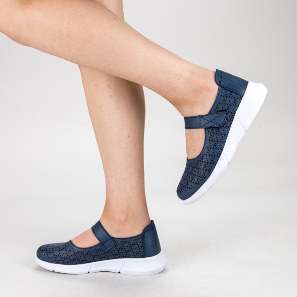 Pantofi Casual Dama YL-2018-67 Navy Angel Blue