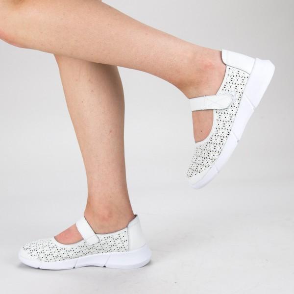 Pantofi Casual Dama YL-2018-67 White Angel Blue