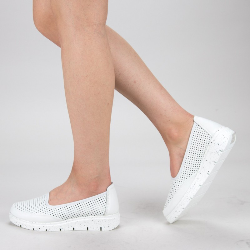 Pantofi Casual Dama 65203-3 White Angel Blue