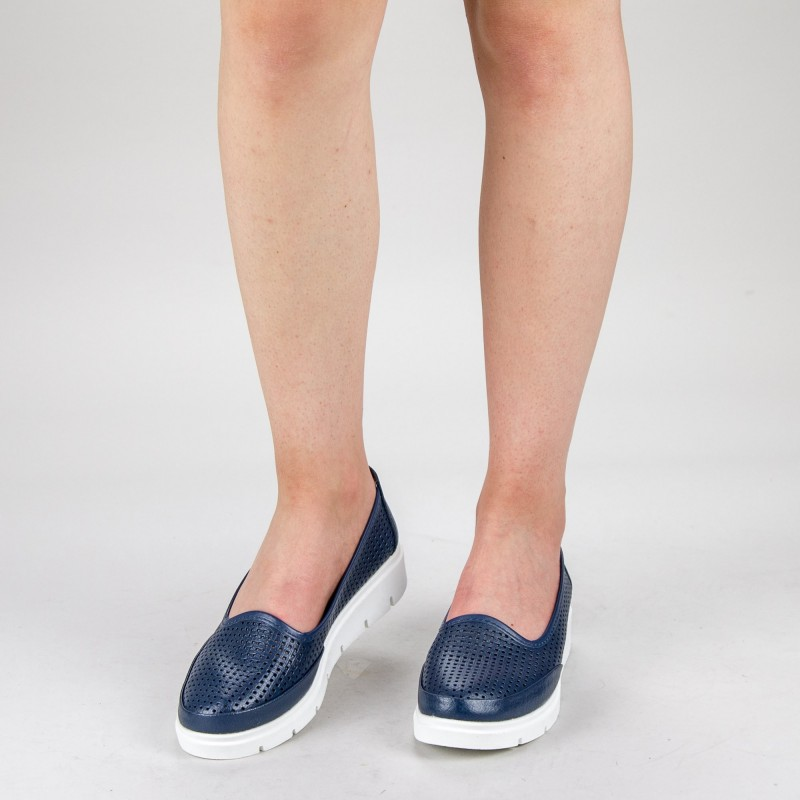 Pantofi Casual Dama 65203-3 Navy Angel Blue