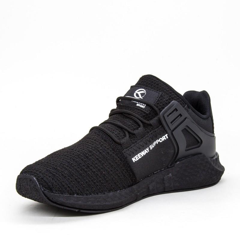 Pantofi Sport Barbati 015 PSB Black Keeway