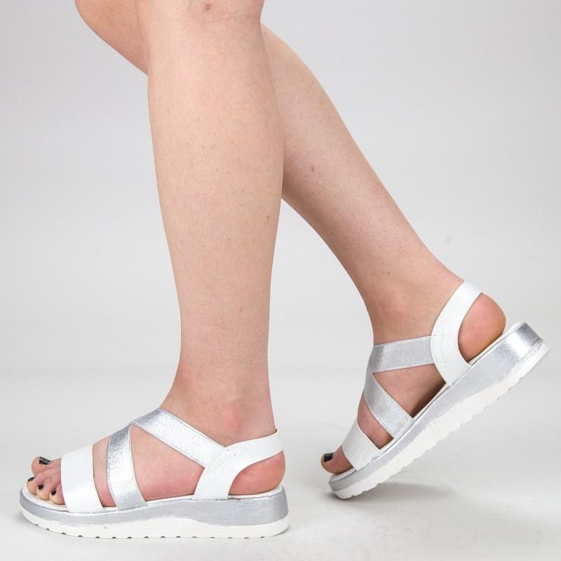 Sandale Dama WS132 Silver Mei