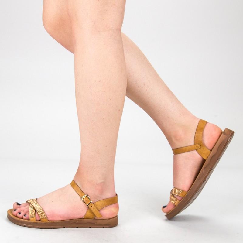 Sandale Dama WS106 Brown Mei