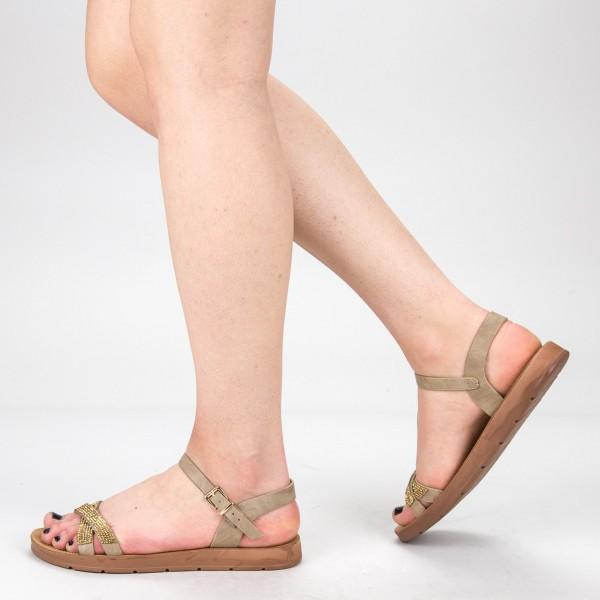 Sandale Dama WS106 Khaki Mei