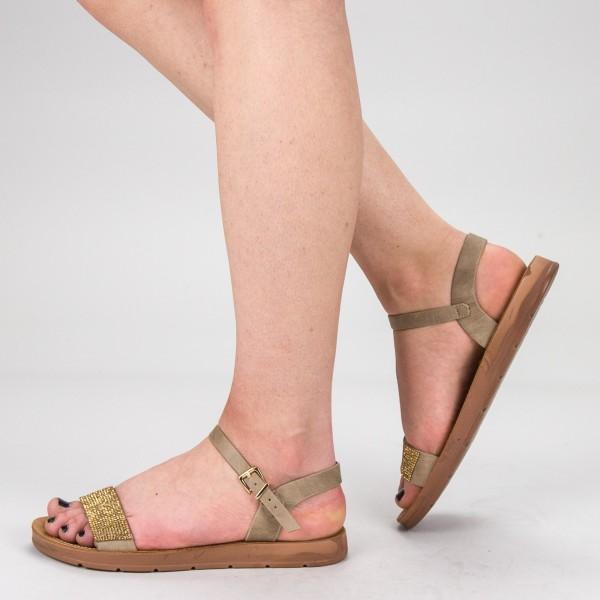 Sandale Dama WS105 Khaki Mei