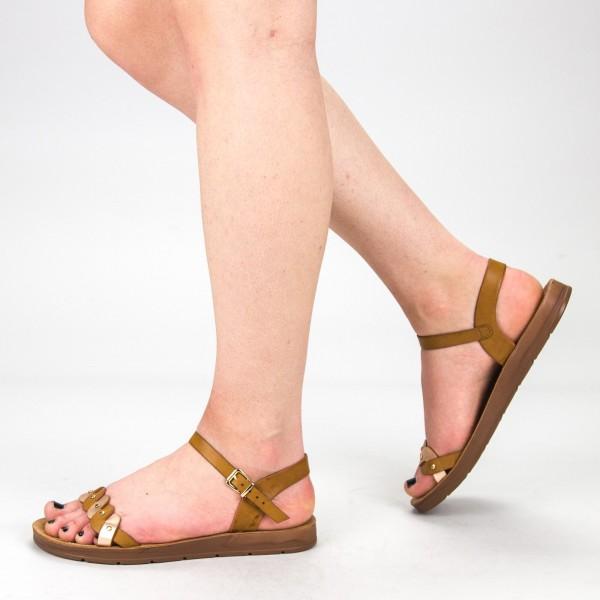 Sandale Dama WS102 Brown Mei