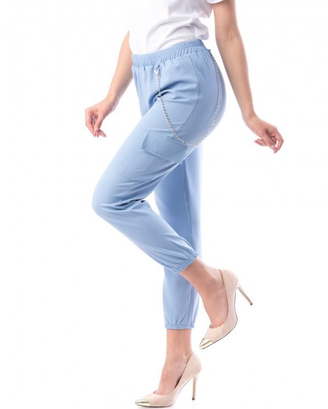 Pantaloni Dama 8159 Bleu Adrom