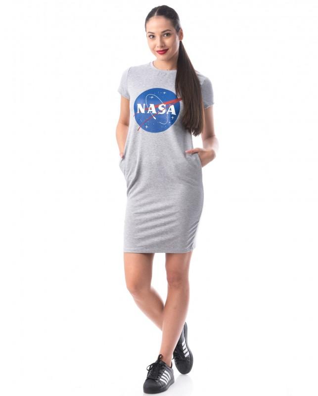 Rochie Dama 8121 NASA Gri Deschis Adrom