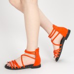 Sandale Dama cu Toc QZL231 Red Mei