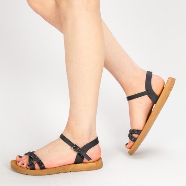 Sandale Dama WS106 Black Mei