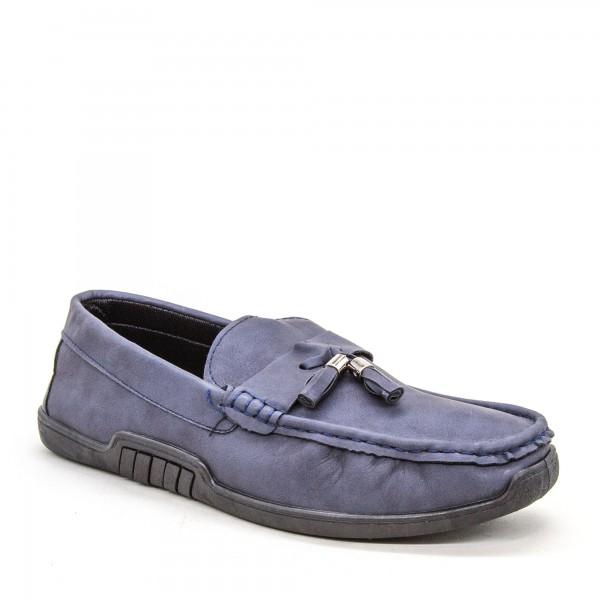 Mocasini Barbati 921-2 MCS Blue Sport Fashion