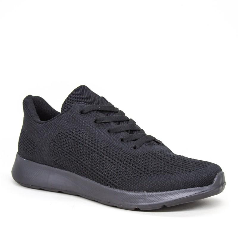 Pantofi Sport Barbati 31558-1 All Black Kiss Gogo