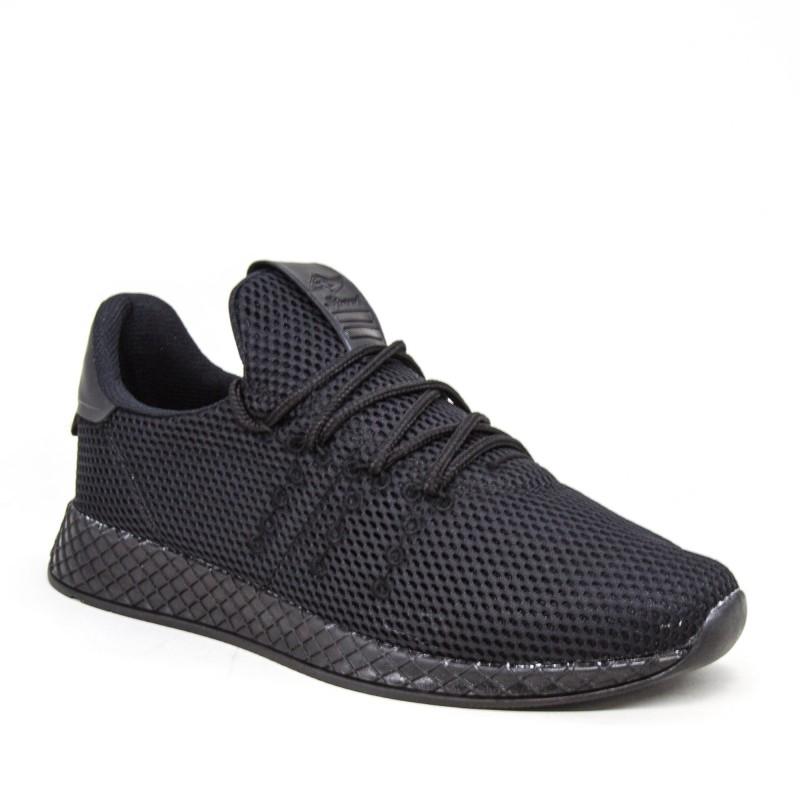 Pantofi Sport Barbati 061 PSB Black Ginnex