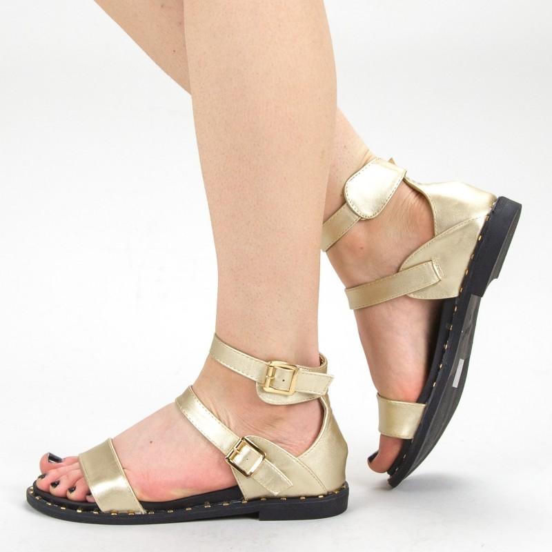 Sandale Dama QZL232 Gold Mei