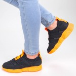 Pantofi Sport Dama YQ50 Black-orange Mei