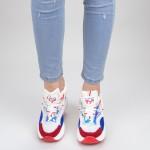 Pantofi Sport Dama SZ200 White-red Mei