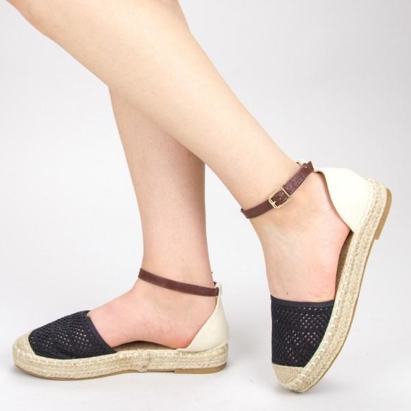 Pantofi Casual Dama QZL278 Black Mei