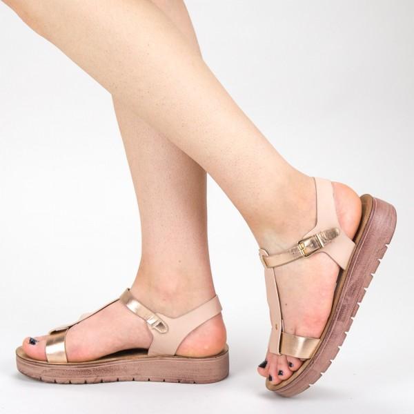 Sandale Dama CS31 Champagne Mei