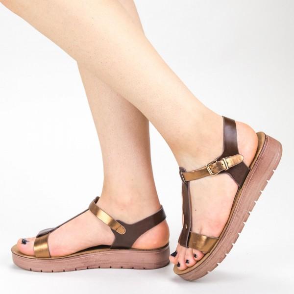 Sandale Dama CS31 Brown Mei