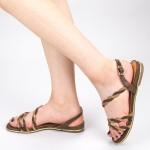 Sandale Dama CS51 Brown Mei
