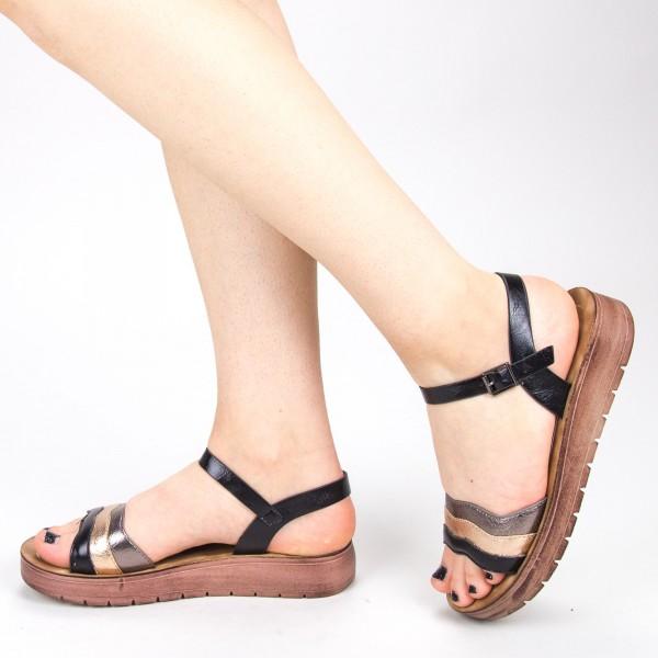 Sandale Dama CS30 Black Mei
