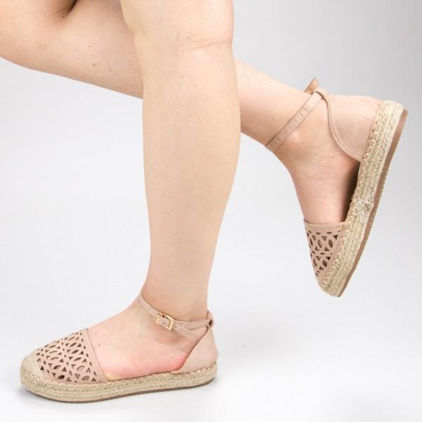 Pantofi Casual Dama HJ9 Beige Mei