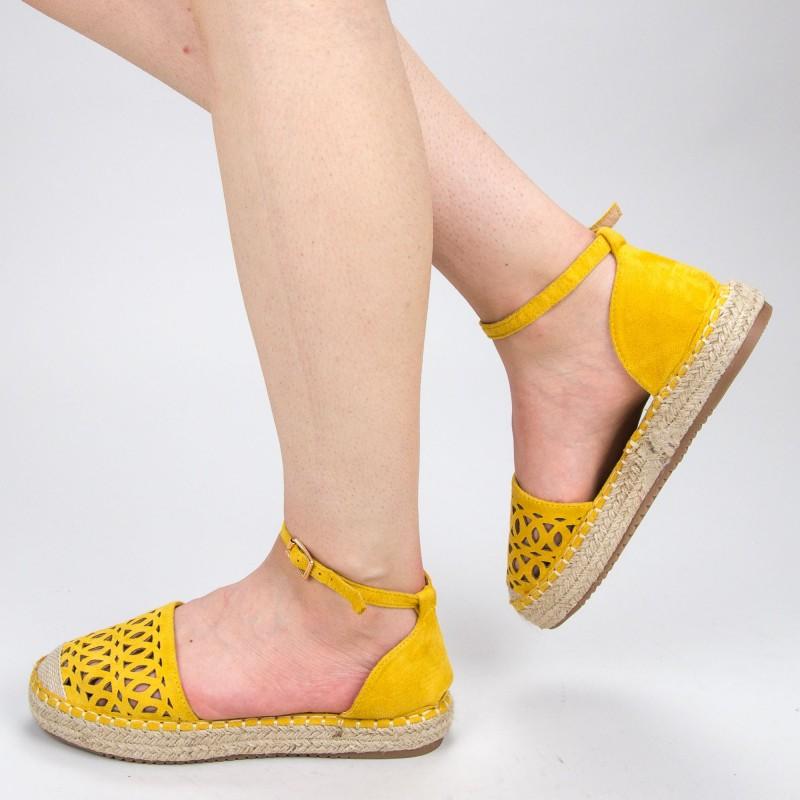 Pantofi Casual Dama HJ9 Yellow Mei