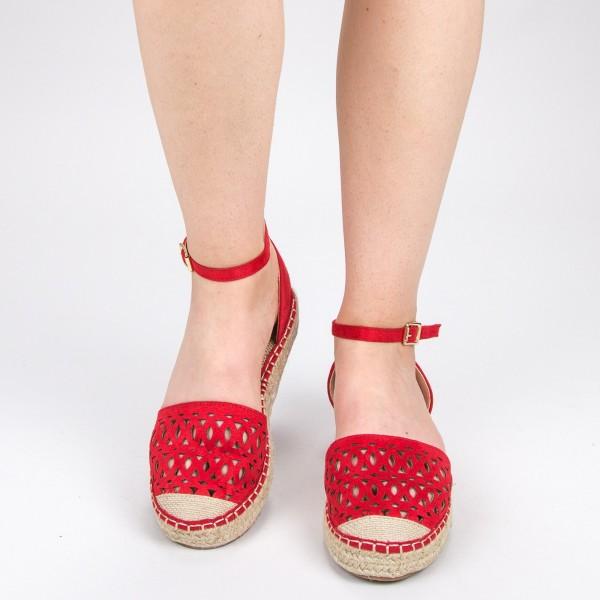 Pantofi Casual Dama HJ9 Red Mei